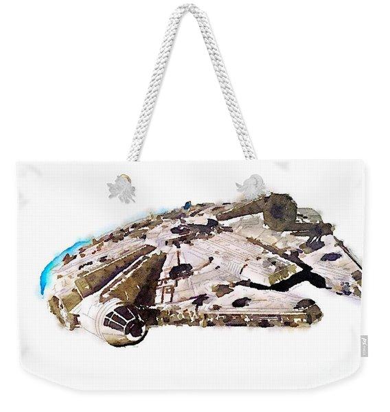 Millenium Falcon Weekender Tote Bag