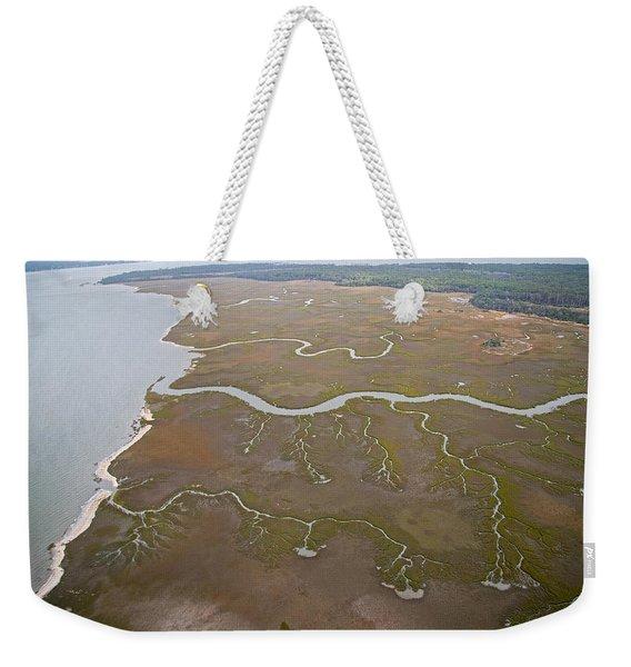 Fauna Veins Weekender Tote Bag