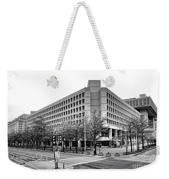 Fbi Building Front View Weekender Tote Bag