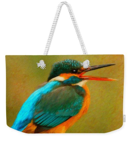 Feathered Friends Weekender Tote Bag