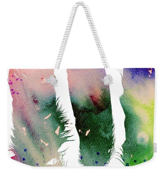 Feathers 4 Weekender Tote Bag