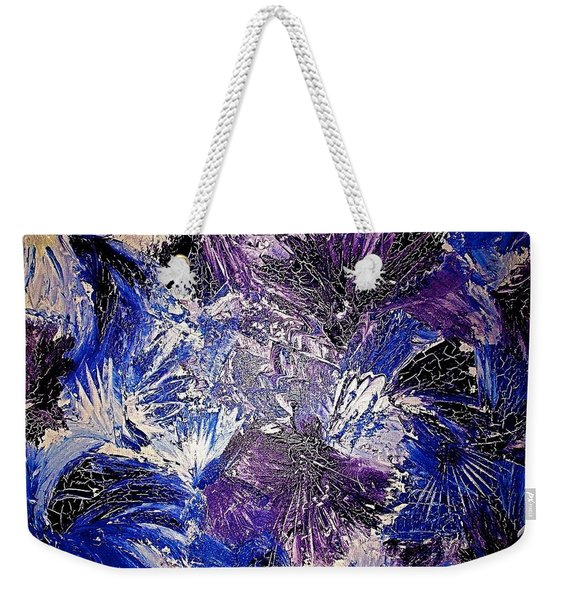 Feathers In The Wind Weekender Tote Bag