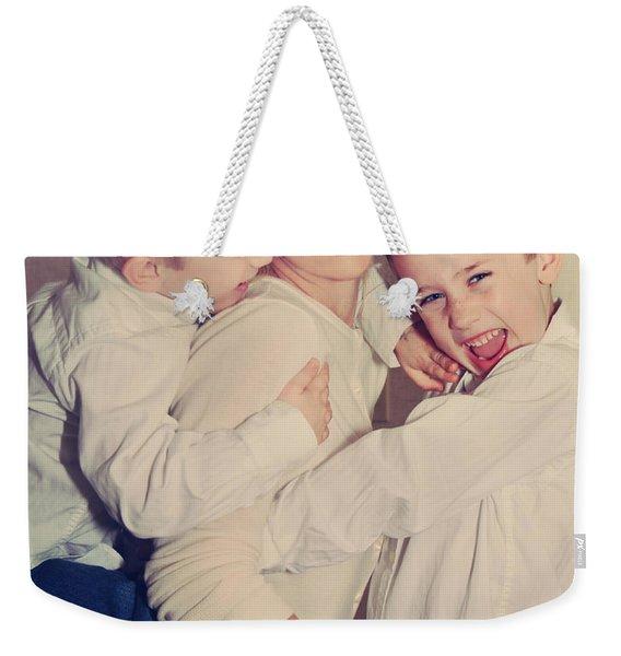 Feel The Joy Weekender Tote Bag