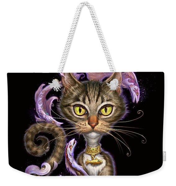 Feline Fantasy Weekender Tote Bag