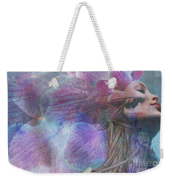Female Beauty Weekender Tote Bag