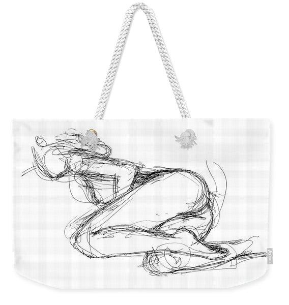 Female-erotic-sketches-8 Weekender Tote Bag