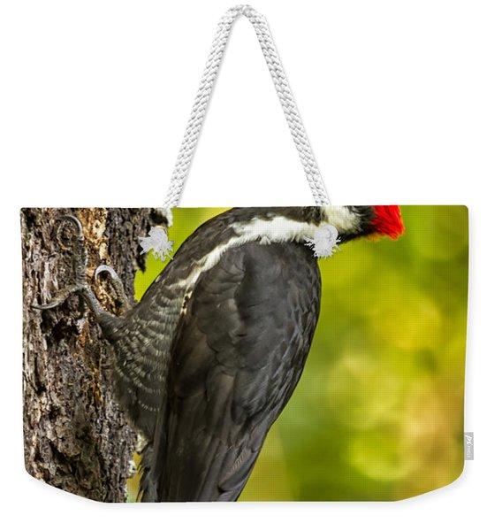 Female Pileated Woodpecker No. 2 Weekender Tote Bag