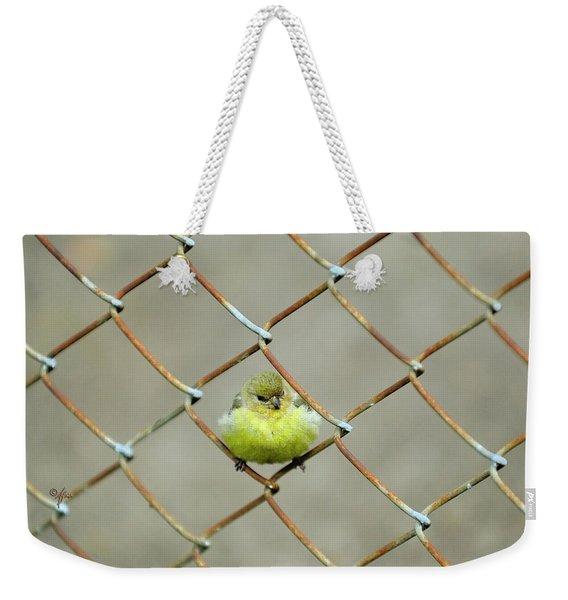 Fence Sitter Weekender Tote Bag