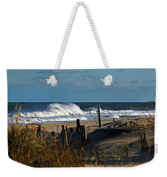 Fenwick Dunes And Waves Weekender Tote Bag