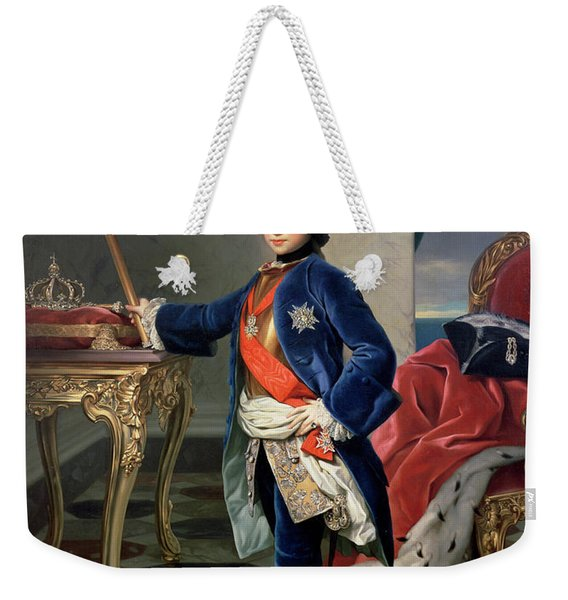 Ferdinand Iv, King Of Naples Weekender Tote Bag
