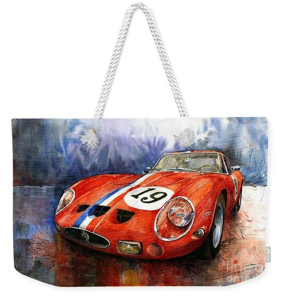 Ferrari 250 Gto 1963 Weekender Tote Bag