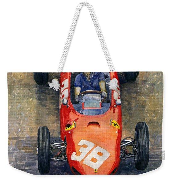 Ferrari Dino 156 1962 Monaco Gp Weekender Tote Bag