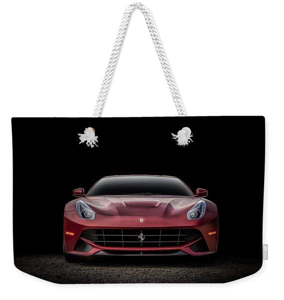 Ferrari F12 Weekender Tote Bag