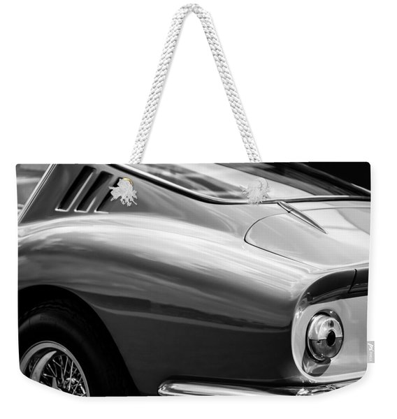 Ferrari Taillight -0039bw Weekender Tote Bag