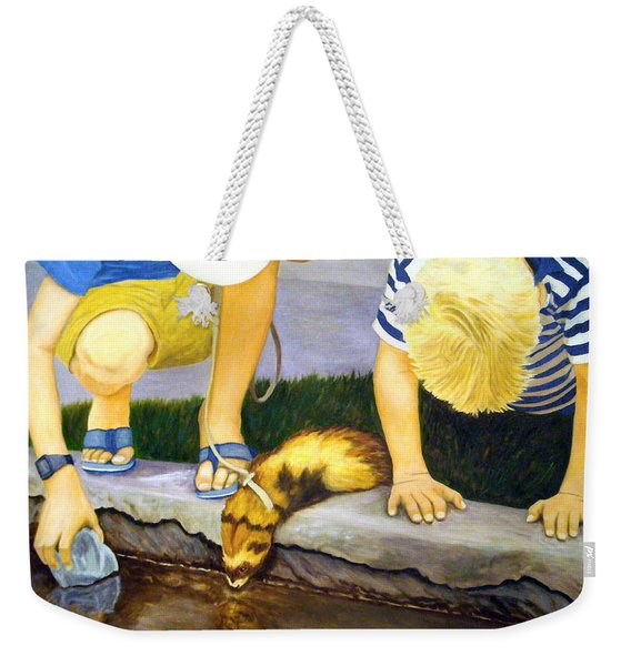 Ferret And Friends Weekender Tote Bag