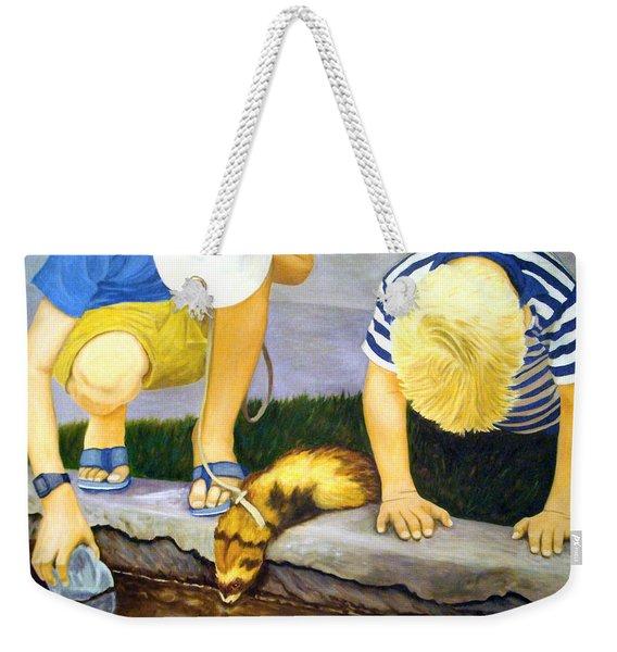 Ferret And Friends Weekender Tote Bag