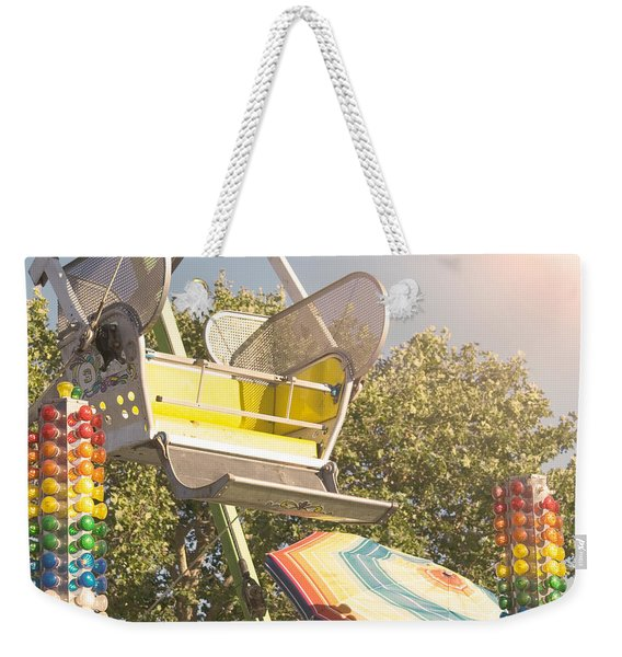 Ferris Wheel Bucket Weekender Tote Bag