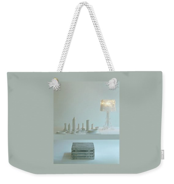 Ferruccio Laviani's Bourgie Lamp From Kartell Weekender Tote Bag