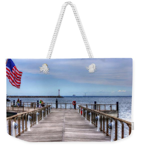 Ferry I See You Weekender Tote Bag