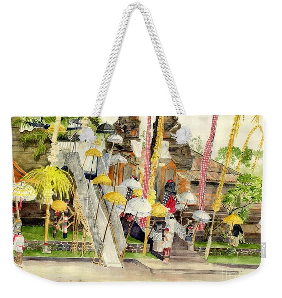 Festival Hindu Ceremony Weekender Tote Bag