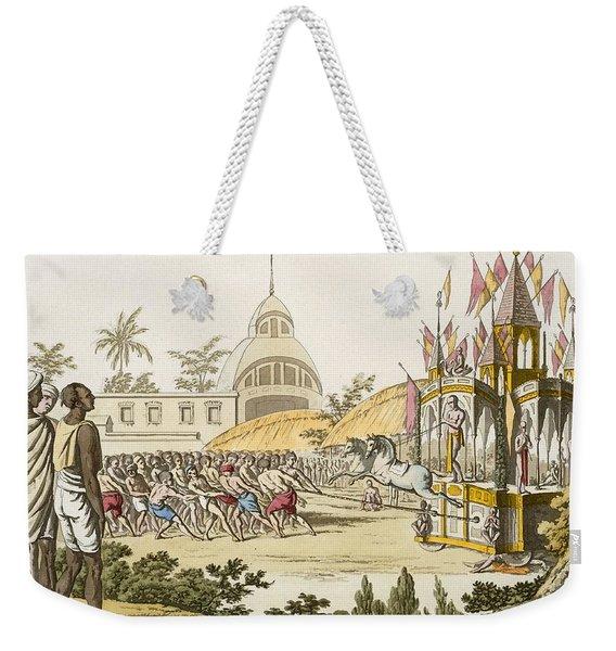 Festival Of The Dedication Weekender Tote Bag