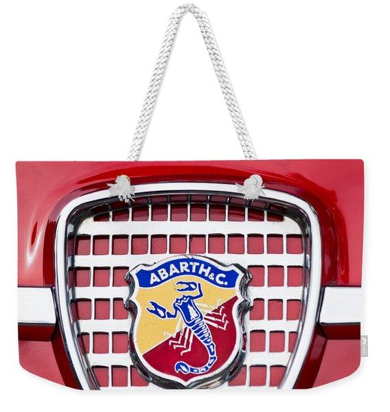 Fiat Emblem 2 Weekender Tote Bag