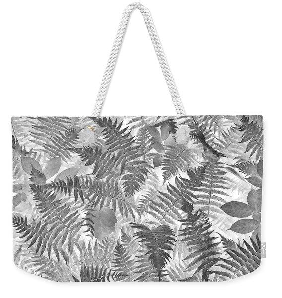 Fiddlehead Ferns Weekender Tote Bag