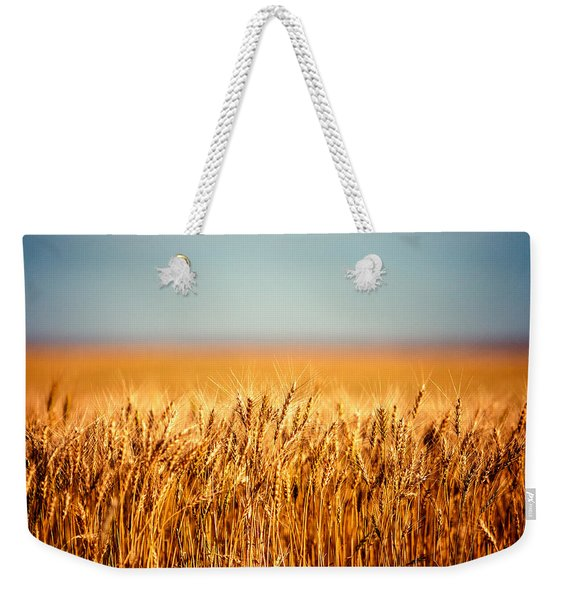 Field Of Wheat Weekender Tote Bag