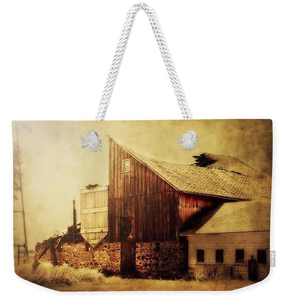 Field Stone Barn 2 Weekender Tote Bag
