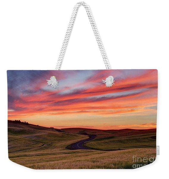 Fields And Dreams Weekender Tote Bag