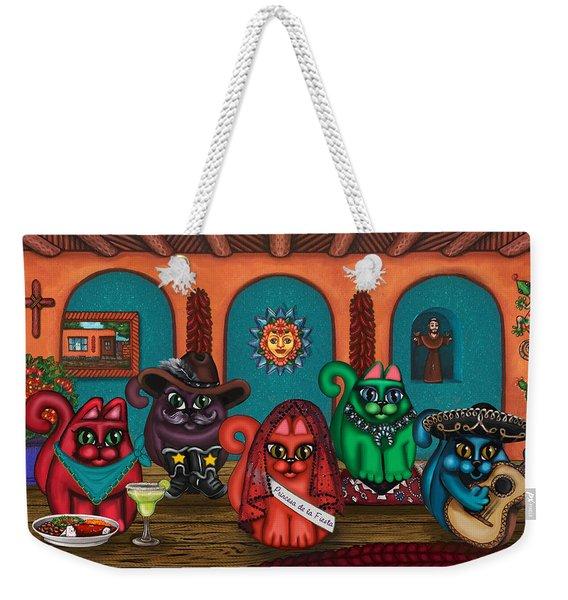 Fiesta Cats II Weekender Tote Bag