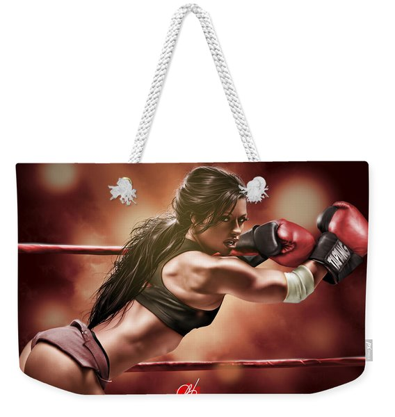 Fight Night Weekender Tote Bag