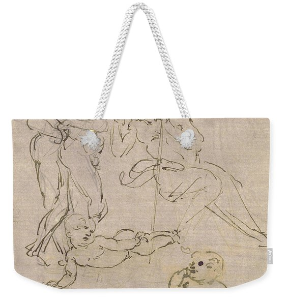 Figural Study For The Adoration Of The Magi Weekender Tote Bag