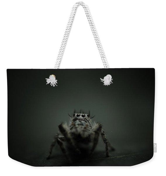 Filbert The Jumping Spider Weekender Tote Bag
