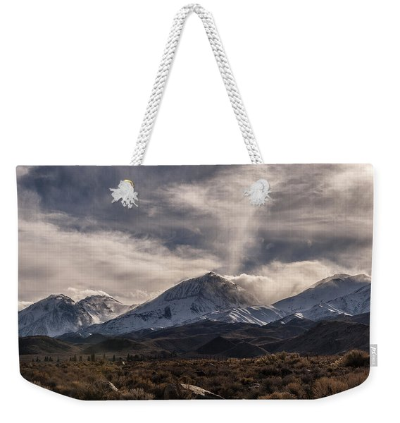 Finally Snow Weekender Tote Bag