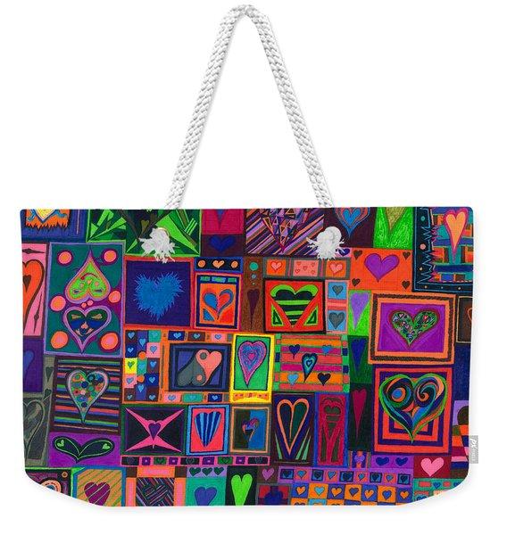 Find U'r Love Found Weekender Tote Bag