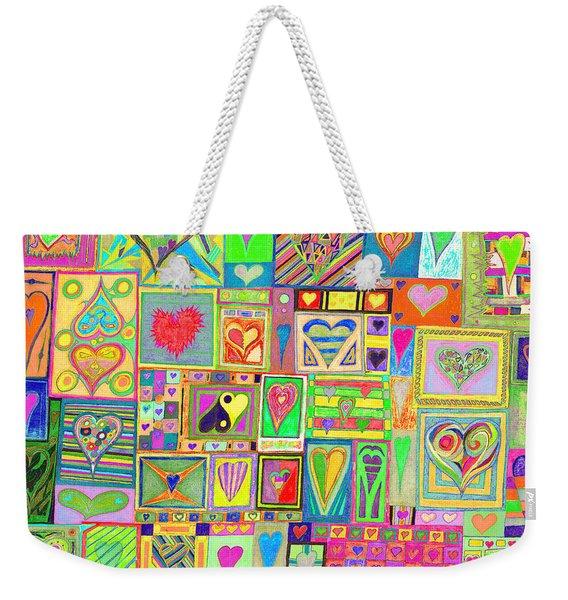 find U'r Love found   v20 Weekender Tote Bag