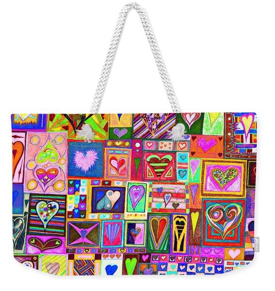 find U'r love found v8 Weekender Tote Bag
