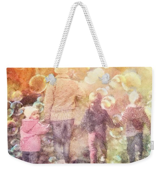Finding Neverland Weekender Tote Bag