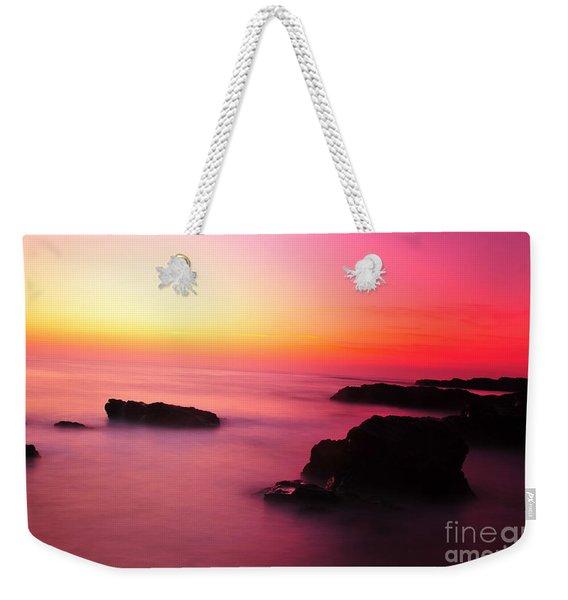 Fine Art - Pink Sky Weekender Tote Bag