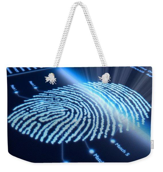 Modern Scanning Technology Weekender Tote Bag