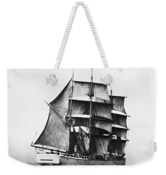 Finnish Barque, 1920 Weekender Tote Bag