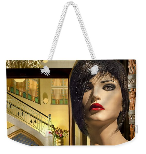 Fiona Arrives In Prague Weekender Tote Bag