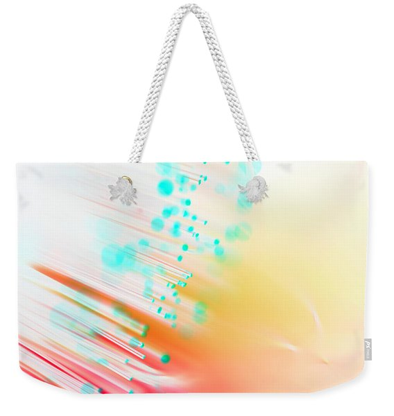 Fire And Light Weekender Tote Bag