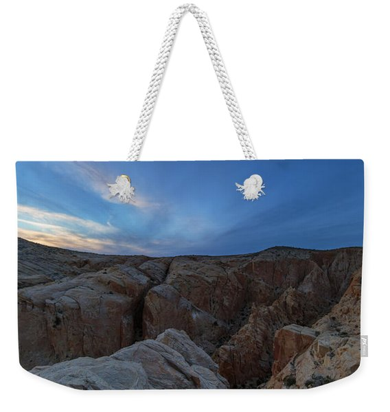 Fire Canyon Afterglow Weekender Tote Bag