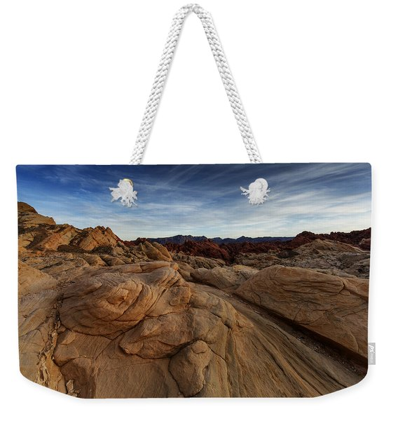 Fire Canyon, Valley Of Fire Weekender Tote Bag