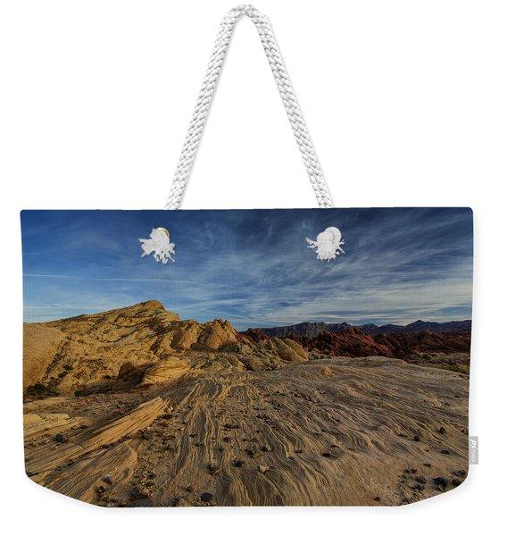 Fire Canyon Rim Weekender Tote Bag