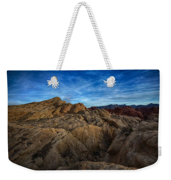 Fire Canyon Twilight Weekender Tote Bag