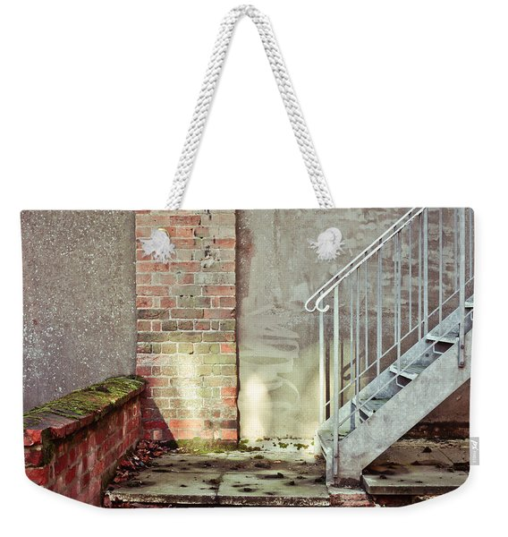 Fire Escape Stairs Weekender Tote Bag