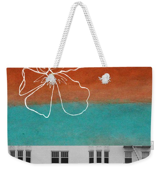Fire Escapes Weekender Tote Bag